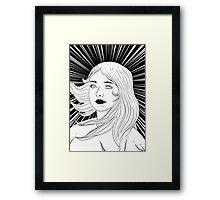 victorious girl Framed Print
