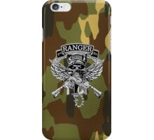 1st Ranger Bn camo (iPhone case) iPhone Case/Skin