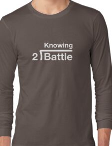 GI Joe: Knowing is half the battle (army green drab) Long Sleeve T-Shirt