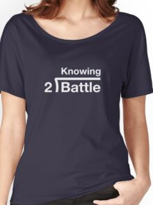GI Joe: Knowing is half the battle (army green drab) Women's Relaxed Fit T-Shirt