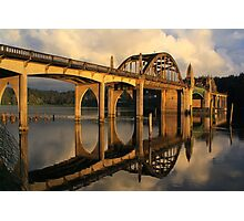 Suislaw River Bridge Photographic Print