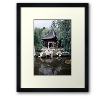 Chinese Pagoda Framed Print