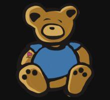 Tattoo Teddy Baby Tee