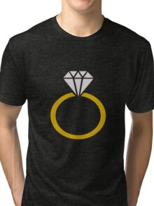 Diamond Ring Tri-blend T-Shirt