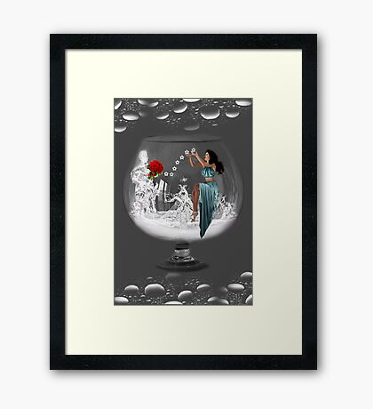 ❤‿❤ IT WAS JUST MY IMAGINATION (ON BENDED KNEE)❤‿❤ Framed Print