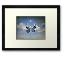 Wind, Clouds and Tea Framed Print