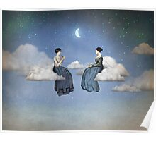 Wind, Clouds and Tea Poster
