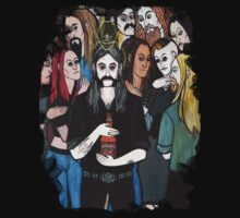 Lemmy Kilmister's Ascent to the Rainbow Bar & Grill by bathsabbath