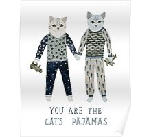 You are the Cat's Pajamas Poster
