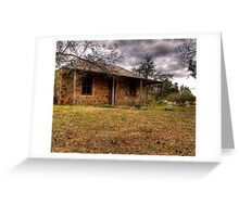 Old Cottage- Hill End Greeting Card