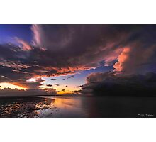 Storm & Tempest over the Lagoon I Photographic Print