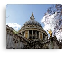 St.Paul's Cathedral Canvas Print