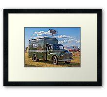 "1953 Austin Lodestar TV Vehicle RXX905 ""Thumper"" Framed Print"