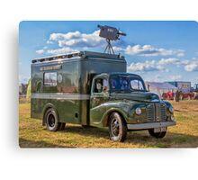 "1953 Austin Lodestar TV Vehicle RXX905 ""Thumper"" Canvas Print"