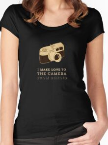 Photographers Women's Fitted Scoop T-Shirt