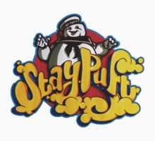 Stay Puft Marshmallow Man Logo - Graffiti Kids Tee