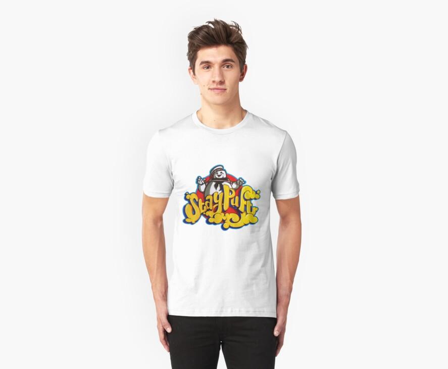 Stay Puft Marshmallow Man Logo - Graffiti by DaveCee