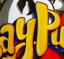 Stay Puft Marshmallow Man Logo - Graffiti Sticker