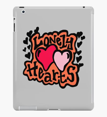 Lonely hearts iPad Case/Skin