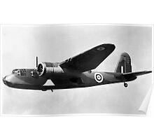 RAF Bristol Beaufort circa 1942 Poster