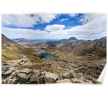 Summit of Snowdon Poster