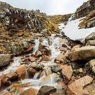 Ben Nevis Waterfall by Nicholas Jermy