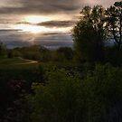 Storm Clouds at Sunset by Scott Hendricks