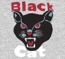 Black Cat One Piece - Long Sleeve