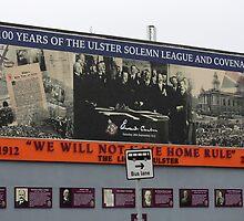 Belfast Murals - 100 Years by Ren Provo