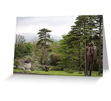 Culloden Estate Statuary in Northern Ireland Greeting Card