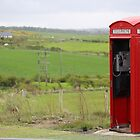 Iconic British phone booth in Northern Ireland by Ren Provo