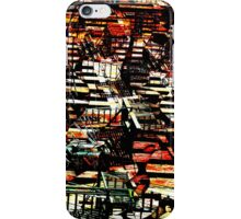 Mott St NYC Fire Escapes iPhone Case/Skin