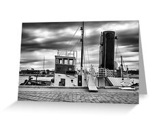 Yelta : The Old Port Adelaide Tug Boat. Greeting Card