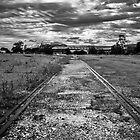 Old Dockside Railway : Port Adelaide South Australia. by Nick Egglington