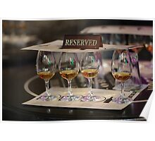 Whiskey Tasting Jameson Style Poster
