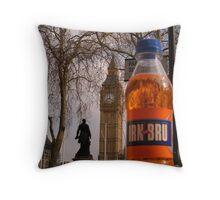 An Irn-Bru Abroad Throw Pillow