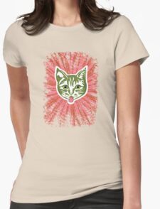 Razzle Dazzle Mollycat Womens Fitted T-Shirt