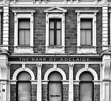 The Old Bank Of Adelaide Facade : Port Adelaide South Australia. by Nicholas Griffin