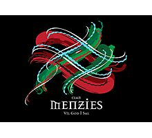 Menzies Tartan Twist Photographic Print