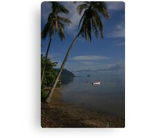 Lazy Days In Paradise Canvas Print