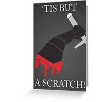 Monty Python: Black Knight Greeting Card
