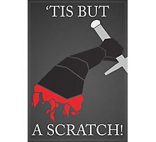 Monty Python: Black Knight Photographic Print