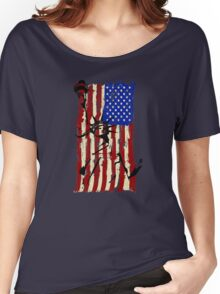 America United Women's Relaxed Fit T-Shirt