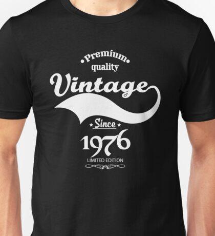 Premium Quality Vintage Since 1976 Limited Edition Unisex T-Shirt