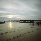 Sunset At Sea - Lomo by Yao Liang Chua