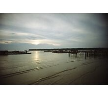 Sunset At Sea - Lomo Photographic Print
