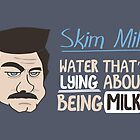 Skim Milk by thehookshot
