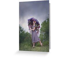 Perennial Parasol Greeting Card