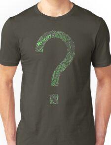 Riddler Wordart Unisex T-Shirt
