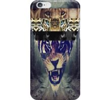 Triangle Lions,tigers Iphone and Ipod case iPhone Case/Skin